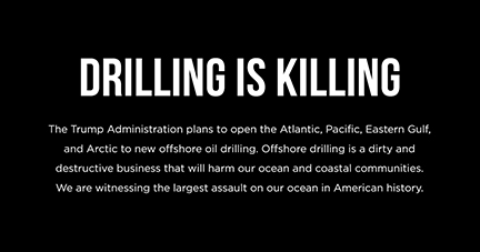 Stop Offshore Oil  Drilling