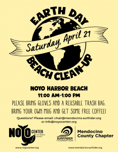 Earth Day Beach Clean-Up – Saturday, April 21