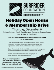 Holiday Open House & Membership Drive